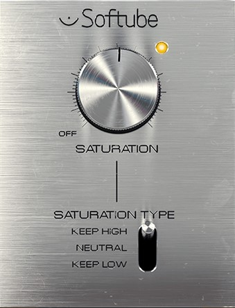 Softube Saturation Knob which is a free vst plugin you can download
