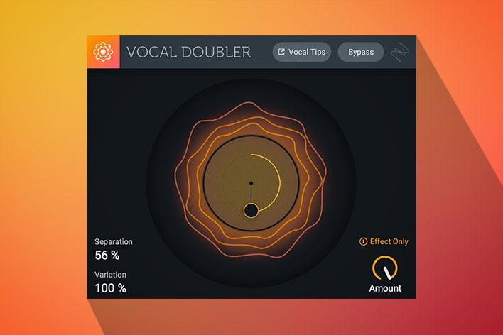 Free VST Plugin izotope vocal doubler